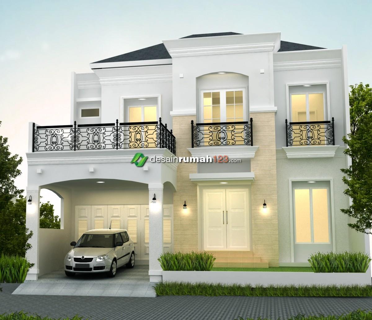 Model Desain Rumah Klasik Indonesia Yang Memiliki Banyak Peminat