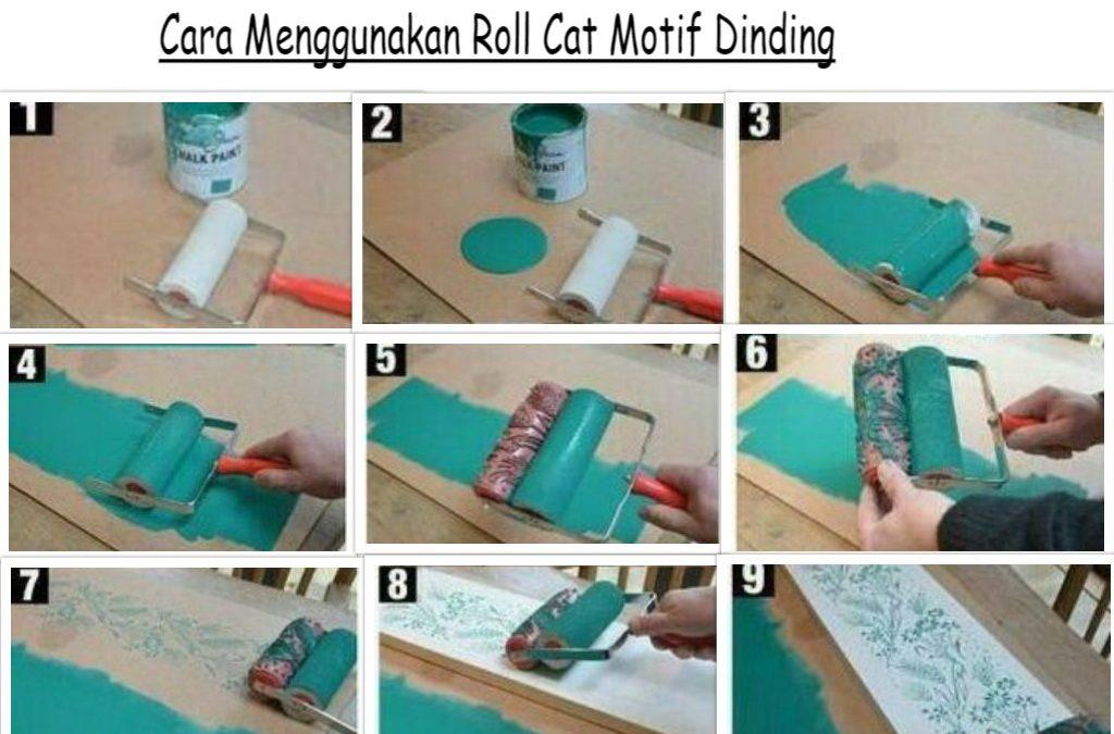 Cara Menggunakan Roll Cat Motif