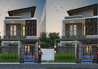 desain rumah 6 x 15