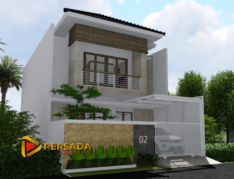 Desain Rumah Minimalis Tropis 8 x 15 M2
