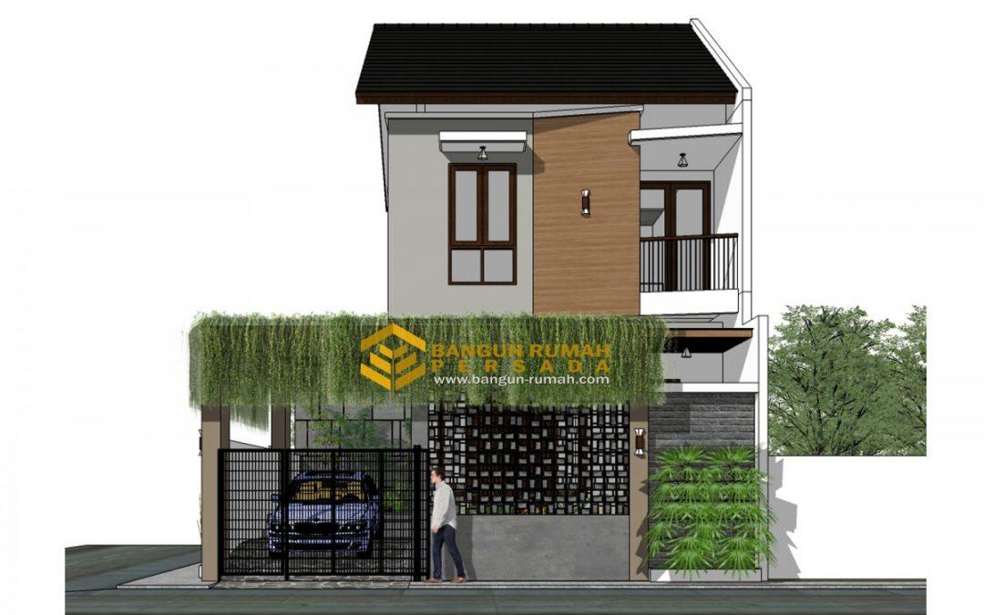 Desain Rumah Hook 2 Lantai Di Tanah 9 x 12 M2 Untuk Inspirasi