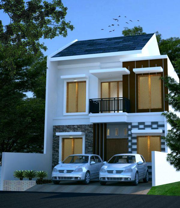 Desain Rumah Ruko Minimalis 1 Lantai desain rumah minimalis 2 lantai di lahan 8 x 15 m2 desain