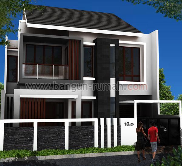 Desain Rumah 2 Lantai di Lahan 10 x 16 M2 Desain Rumah line