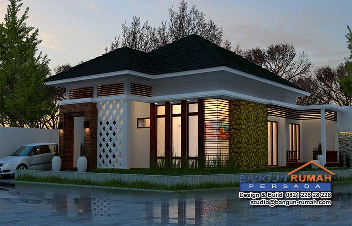 Desain Rumah Tropis 1 Lantai Jasa Desain Rumah Dan Kontraktor
