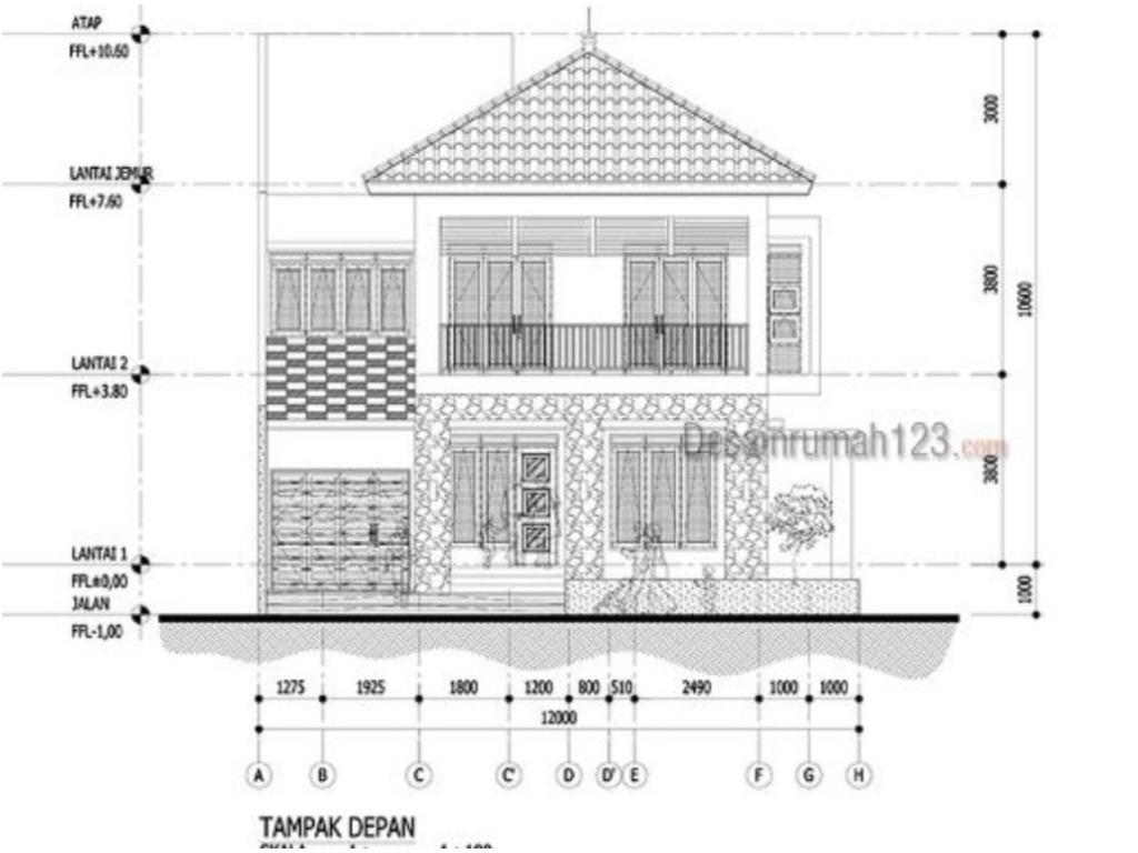 Image Result For Desain Eksterior Rumah