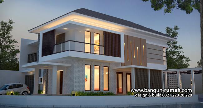 Desain Rumah Tropis Modern di Fatmawati Jakarta Selatan