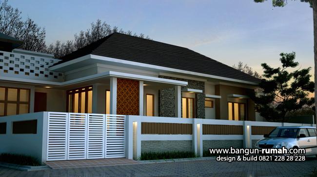 Gambar Rumah Tropis 1 Lantai Desain Rumah Online