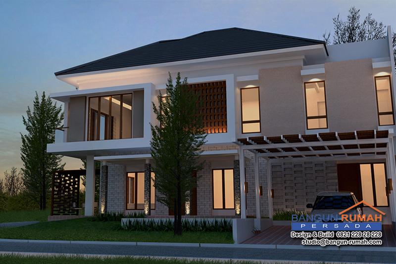 Pembuatan Desain Rumah 2 Lantai di Green Cove BSD