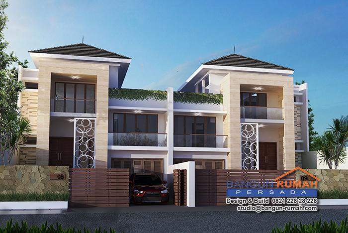 Desain Rumah Ibu Tanti di Jl. Margasatwa Pasar Minggu Jakarta Selatan
