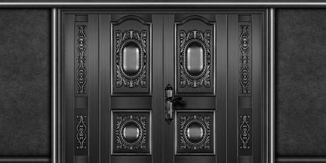 Alternatif Pintu Rumah Berwarna Hitam