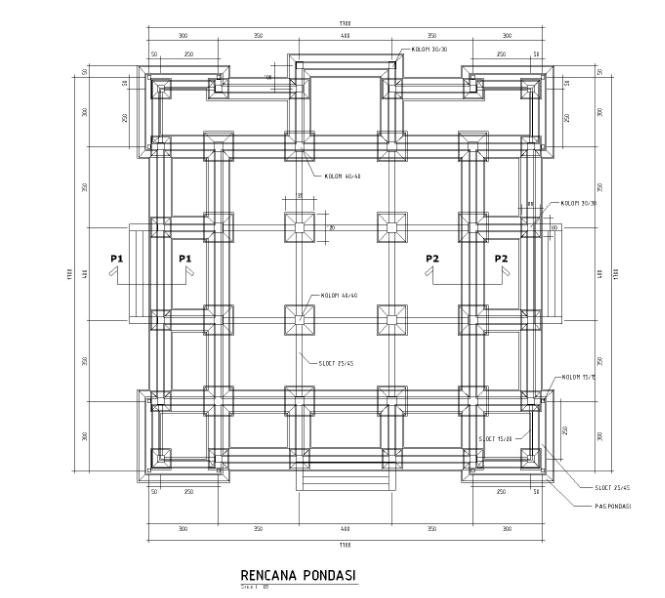 Pondasi Rumah 2 Lantai Desain Rumah Online