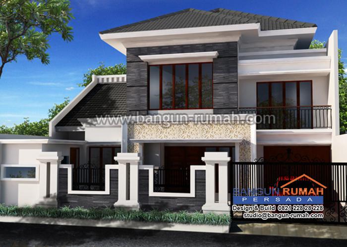 Desain Rumah Ibu Hany di Kayu Putih Jakarta Timur