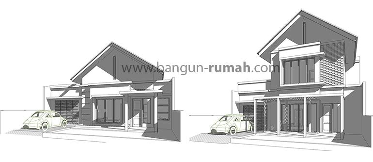 Desain Rumah Tumbuh